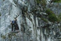 Dolina Kobylańska - wspinaczka