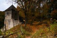 brama zamku w Ojcowie