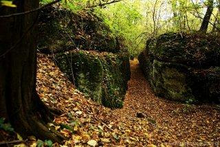 Zimny Dół korytarz skalny