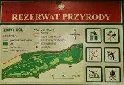 Mapka informacyjna Zimny Dół