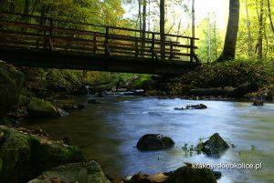 Dolina Racławki mostek